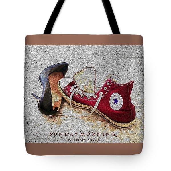 Sunday Morning Tote Bag