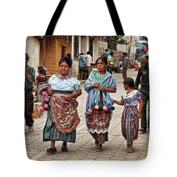 Sunday Morning In Guatemala Tote Bag