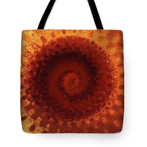 Tote Bag featuring the painting Sundial by Mark Taylor