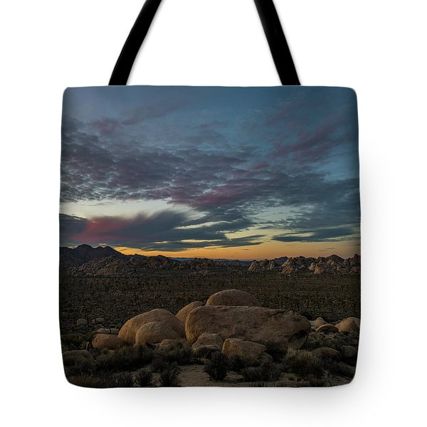 Sundown From Hilltop View Tote Bag