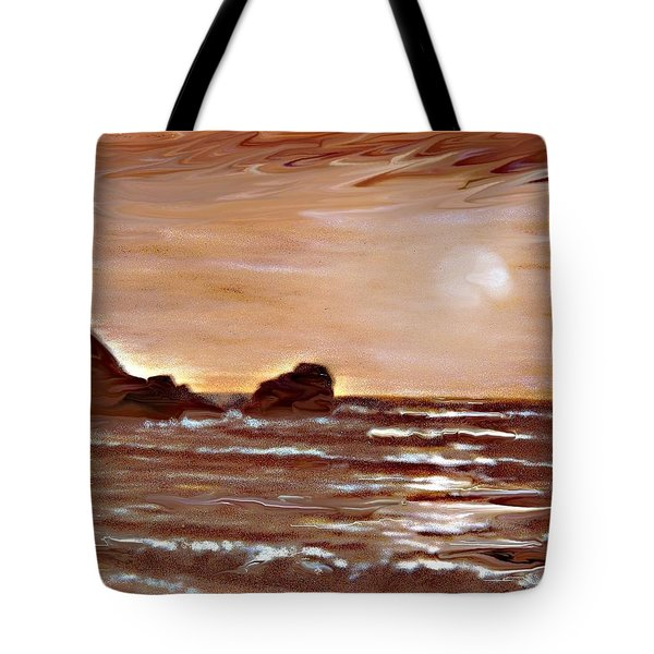 Sundown Glow Tote Bag