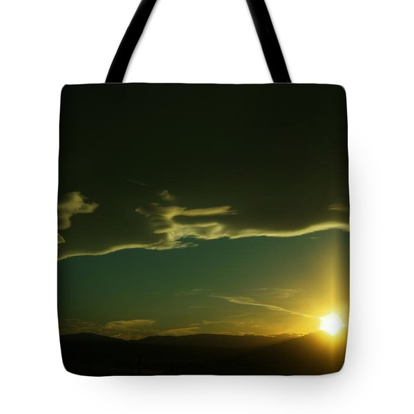 Sundown In The Wenas Tote Bag