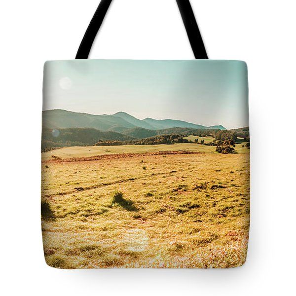 Sundown Prairie Tote Bag