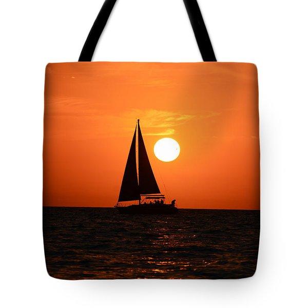 Sundown Sailors Tote Bag
