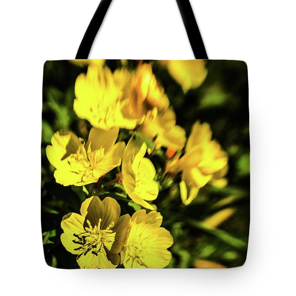 Tote Bag featuring the photograph Sundrops by Onyonet  Photo Studios