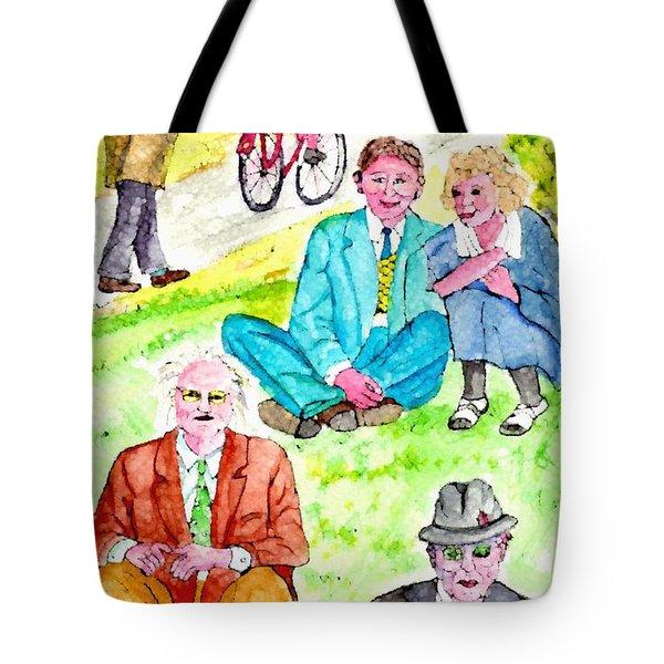 Sunday Morning In Prospect Park Tote Bag