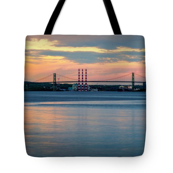 Sunset On The A Murray Mackay Tote Bag