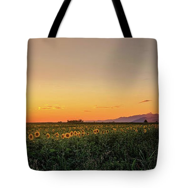 Sunfield Road Tote Bag