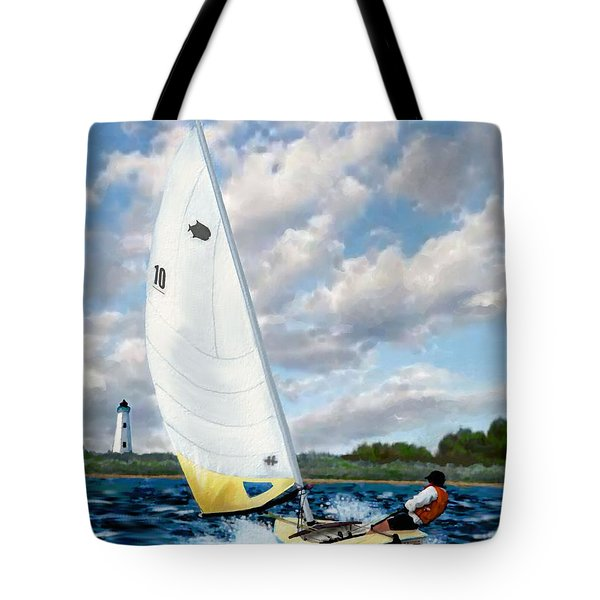 Sunfish Tote Bag by Jann Paxton