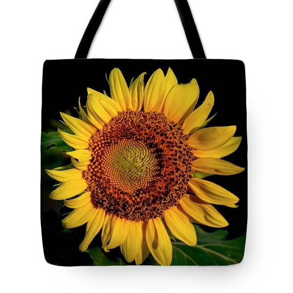 Tote Bag featuring the photograph Sunflower 2017 12 by Buddy Scott