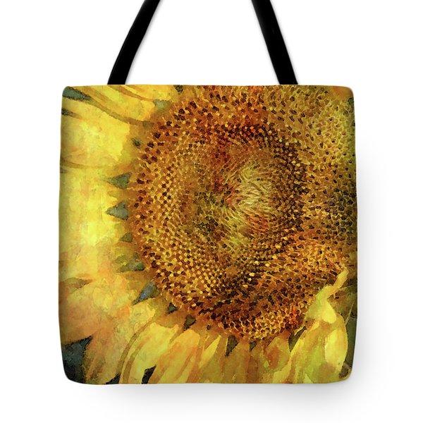 Sunflower 2254 Idp_2 Tote Bag
