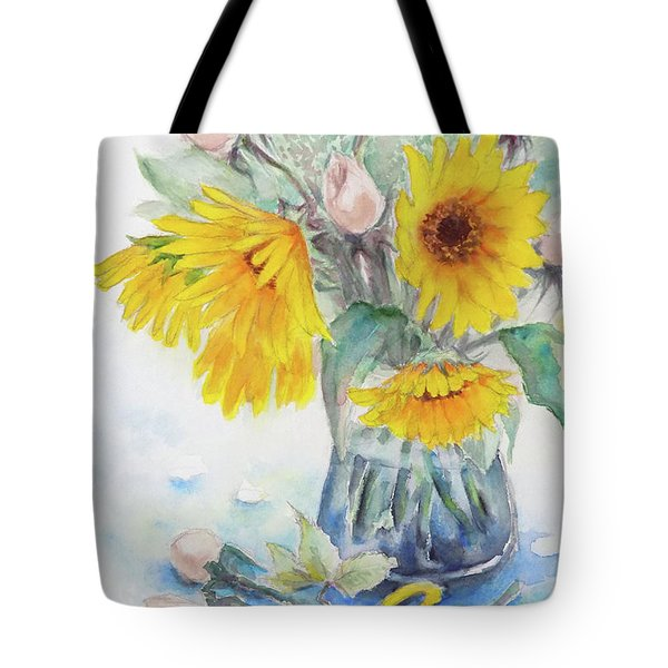 Sunflower-4 Tote Bag