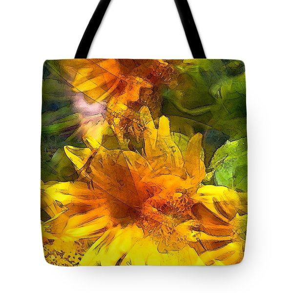 Sunflower 6 Tote Bag
