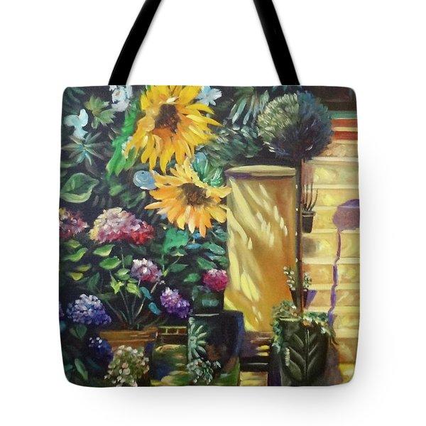 Sunflower Aloha Tote Bag