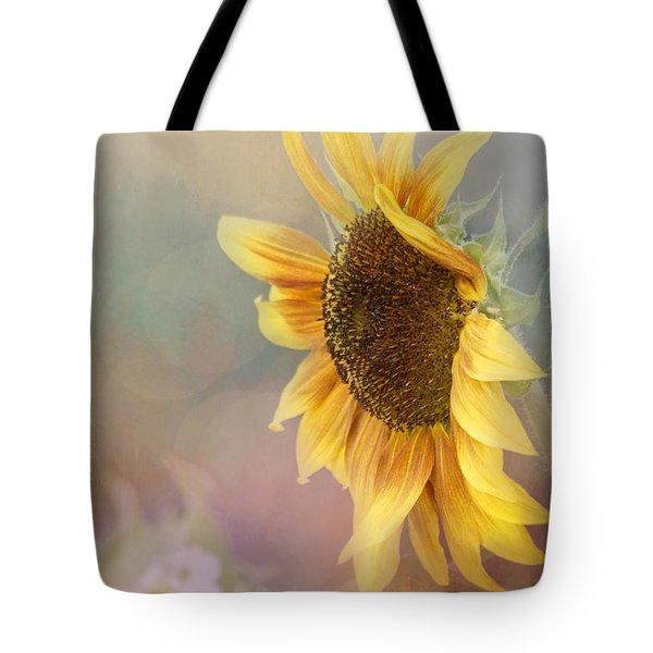 Sunflower Art - Be The Sunflower Tote Bag