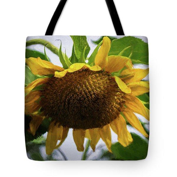 Sunflower Art II Tote Bag