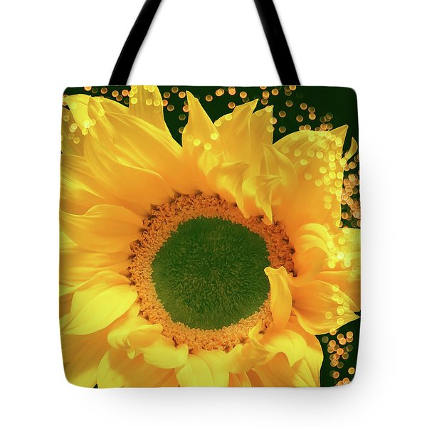 Sunflower Art Tote Bag