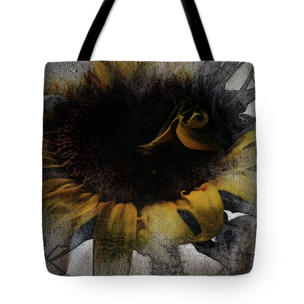 Sunflower Canvas Tote Bag