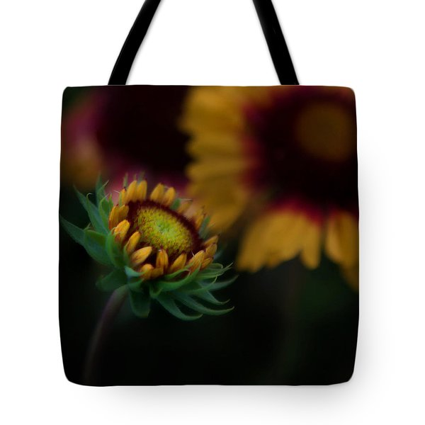 Sunflower Tote Bag by Cherie Duran