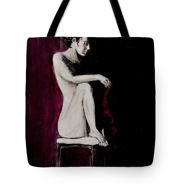 Tote Bag featuring the painting Sunflower.. by Cristina Mihailescu