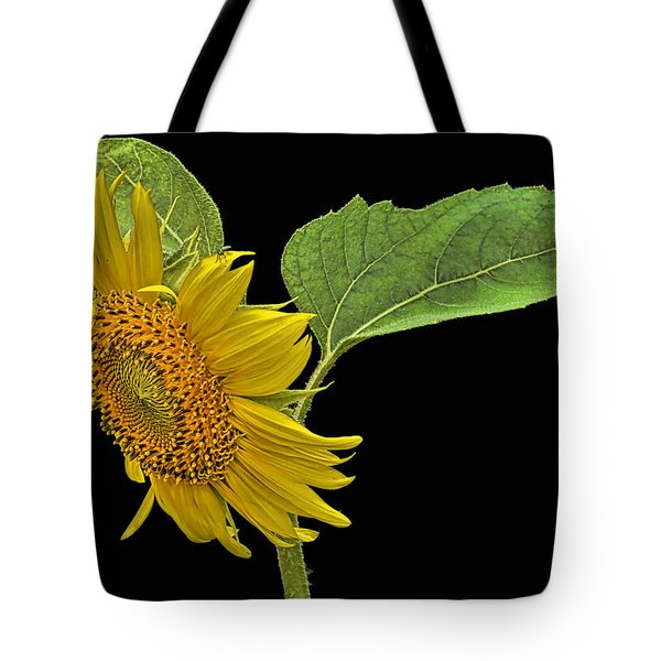 Tote Bag featuring the photograph Sunflower by Don Durfee
