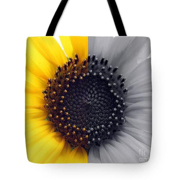 Sunflower Equinox Tote Bag