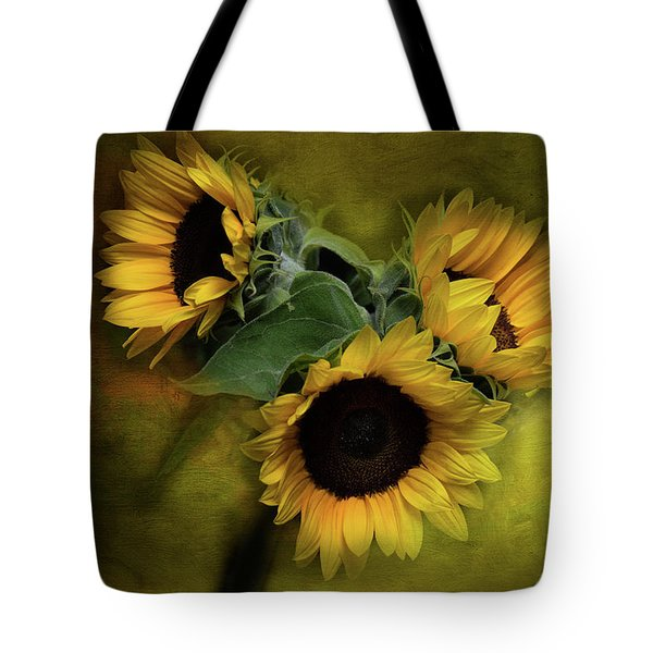 Sunflower Family Tote Bag