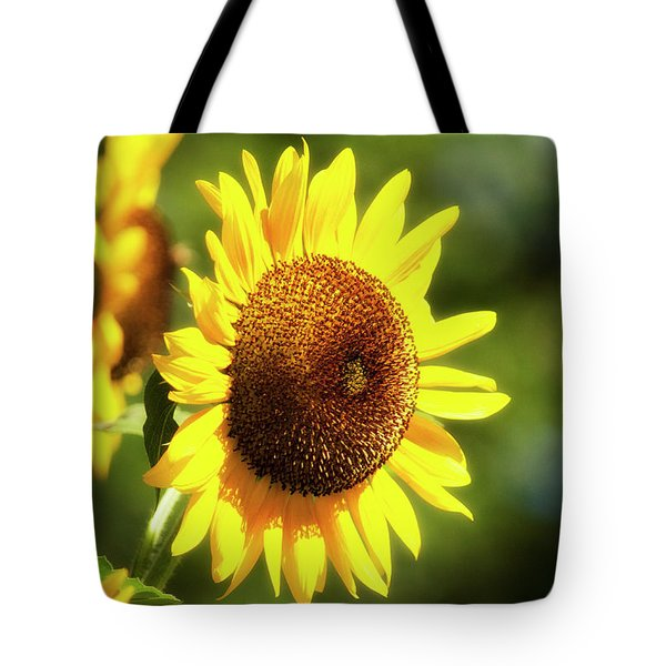 Tote Bag featuring the photograph Sunflower Field by Christina Rollo