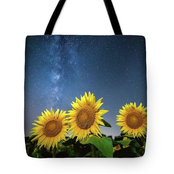 Sunflower Galaxy II Tote Bag