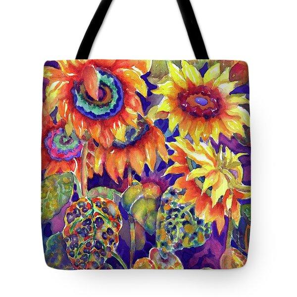 Sunflower Garden I Tote Bag