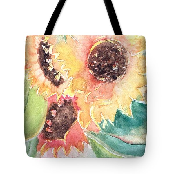 Sunflower Glory Tote Bag by Renate Nadi Wesley