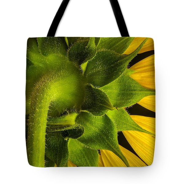 Sunflower Hairs Tote Bag