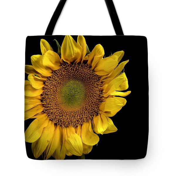 Tote Bag featuring the photograph Sunflower by James Sage