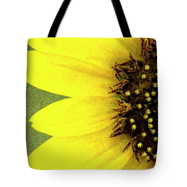Tote Bag featuring the photograph Sunflower by Joe Paul