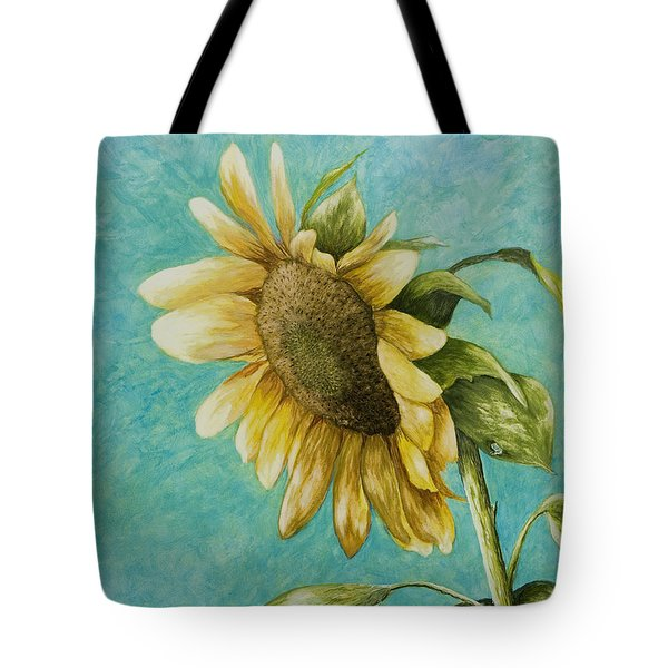 Sunflower Number One Tote Bag