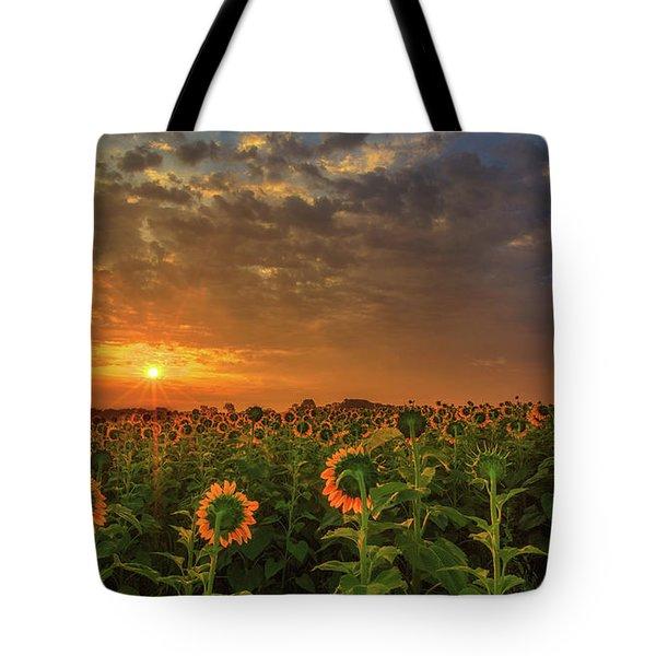 Sunflower Peak Tote Bag