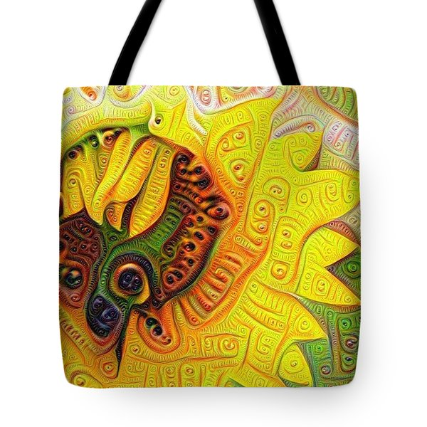 Tote Bag featuring the photograph Sunflower Redeux by Cathy Donohoue