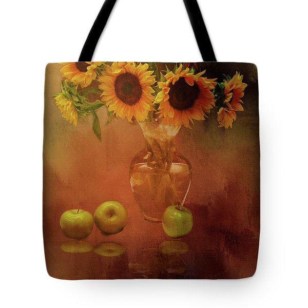 Sunflower Reflections Tote Bag