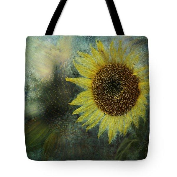 Sunflower Sea Tote Bag