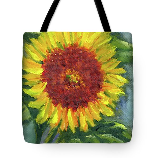 Sunflower Seed Packet Tote Bag