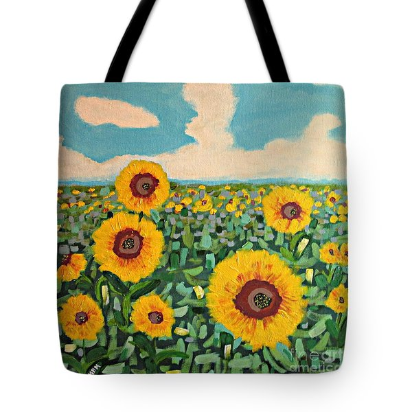 Sunflower Serendipity Tote Bag
