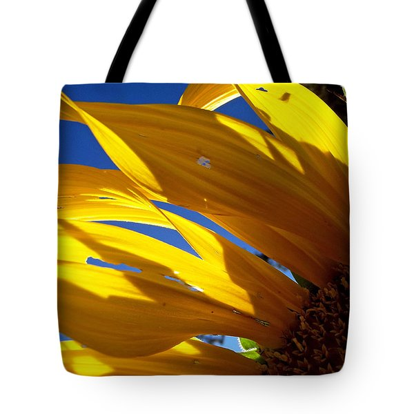 Sunflower Shadows Tote Bag