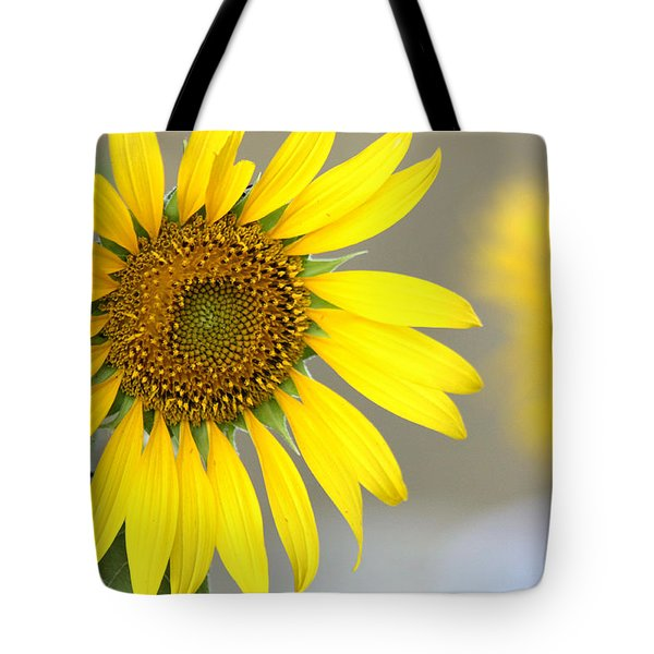 Tote Bag featuring the photograph Sunflower by Sheila Brown