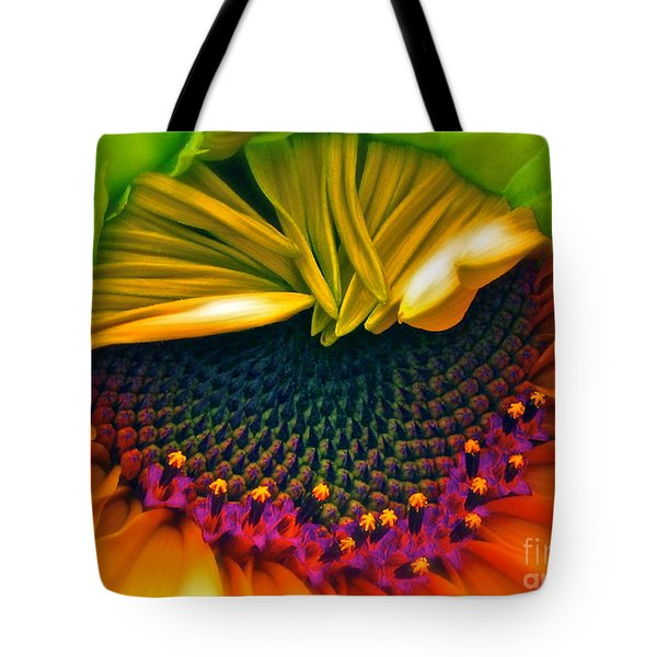Sunflower Smoothie Tote Bag by Gwyn Newcombe