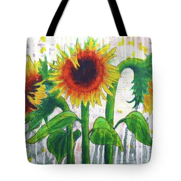 Sunflower Sonata Tote Bag