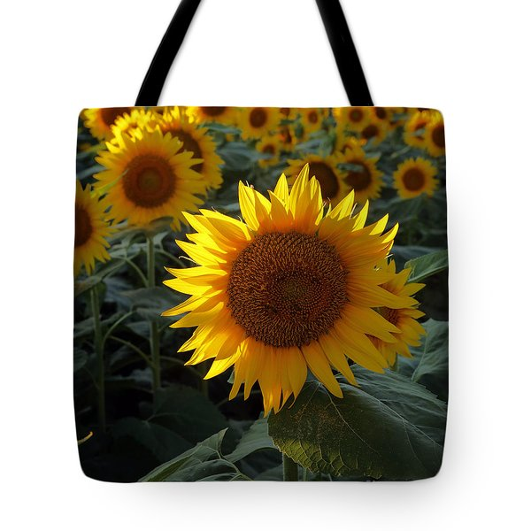 Sunflower Standout Tote Bag