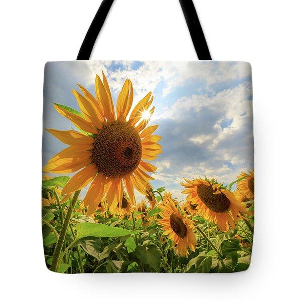 Sunflower Star Tote Bag