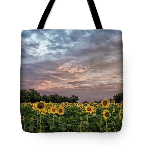 Sunflower Sunrise Tote Bag