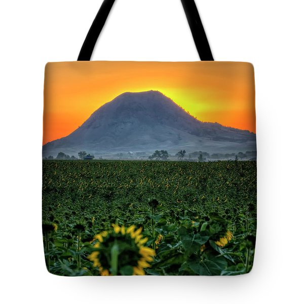 Sunflower Sunrise Tote Bag