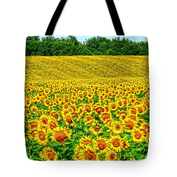 Sunflower Tote Bag by Thomas M Pikolin